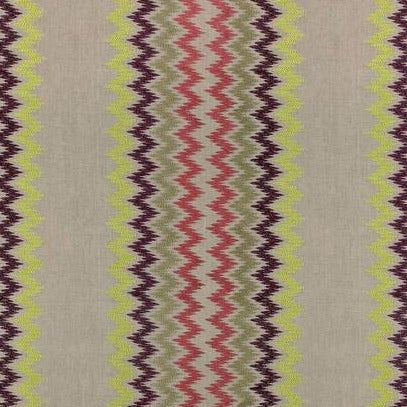 Zippidy Brights on Natural AW7863 Fabric