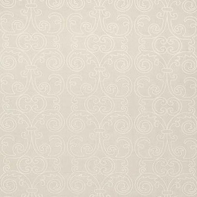 Barcelona White AW9123 Fabric