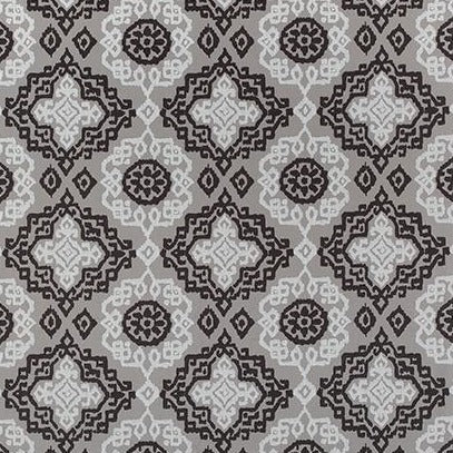 Scottsdale Grey & Black AW73018 Fabric
