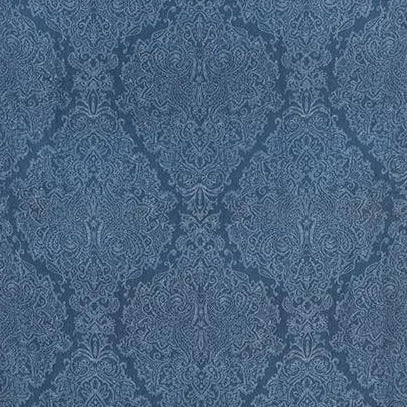 Sterling Paisley Navy AW73025 Fabric
