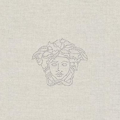 Medusa Off-White Wallpaper Panel
