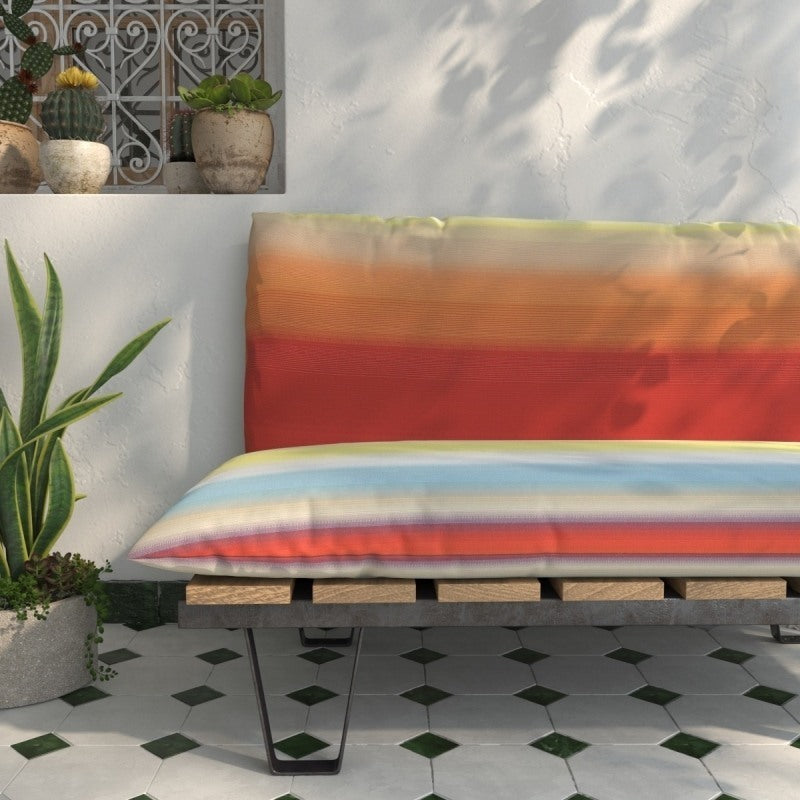 Tonga Arancio Multicolor Outdoor Fabric