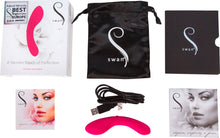 The Mini Swan Wand Vibrator - Pink