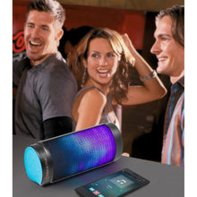 MusicMan Bluetooth-LED Light Soundstation BT-X26 blau-schwarz
