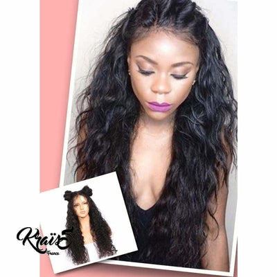 Perruque naturelle  Aaliyah Wavy  ( Lace wig ) - KraïSS, Tissage, extensions et perruques naturelles