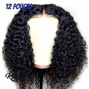 Perruque Naturelle Bouclée Shancy (Lace front)