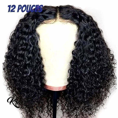 Perruque Naturelle Bouclée Shancy (Lace Wig)