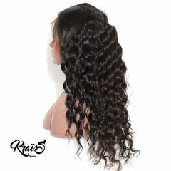 Perruque Naturelle Curly Black April (Lace Wig) - KraïSS, Tissage, extensions et perruques naturelles