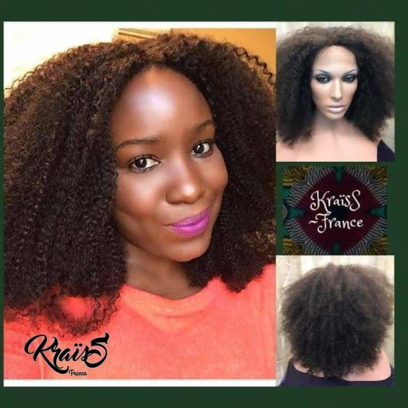 Perruque Naturelle Kinky Curly Binta (Lace Wig)