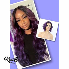 Perruque Violetta (Lace Frontale) Collection FLASHY FASHION - KraïSS, Tissage, extensions et perruques naturelles