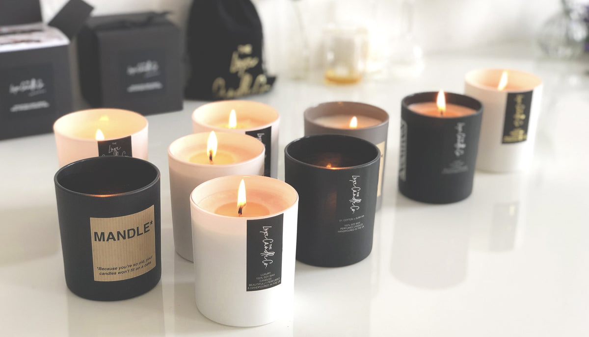 White Label Candles Create Your Own Candle Brand Theluxecandleco