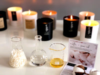Designer candles by artisan candle makers The Luxe Candle Co