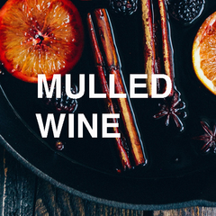 Mulled wine scented christmas candles