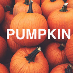 Pumpkin scented christmas candles