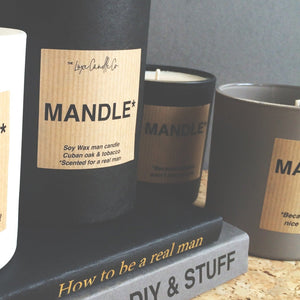 Mens candle gifts - Christmas, Fathers Day, his birthday