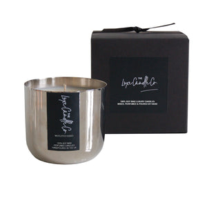 MISTLETOE . SIGNATURE SCENTED CANDLE . CHOOSE YOUR COLOUR