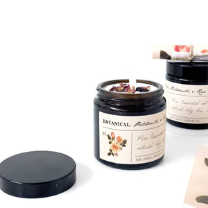 Botanical candles by The Luxe Candle Co