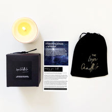 Scented Frankincense and Myrrh candle | The Luxe Candle Co