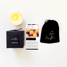 SCENTED CANDLE . SEVILLE ORANGE . BLACK