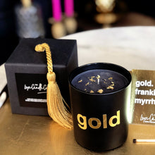 24 CARAT GOLD . LUXURY CANDLE GIFT