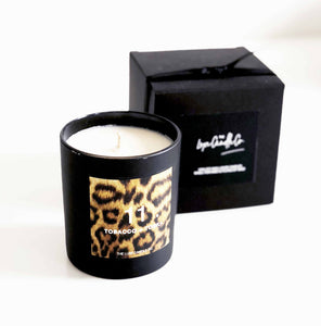 Fashion inspired candles - Tonka bean scented candle