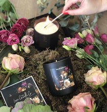 SCENTED CANDLE . OUD + ROSE . MAXIMALIST FLORAL PRINT