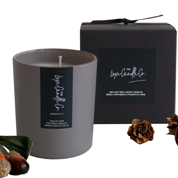 Grey ginger nuts scented candle