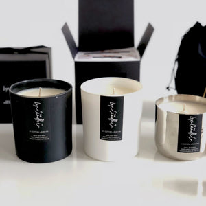 SIGNATURE SCENTED CANDLES . IBIZA . CHOOSE YOUR COLOUR