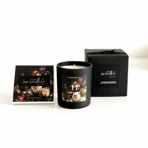 Christmas candle gift set scented fragrance oud and rose