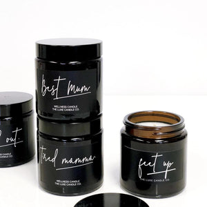 Soy Wax Essential Oil Candles for Mum | The Luxe Candle Co