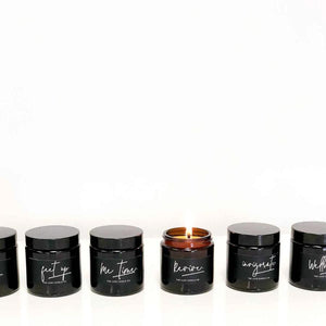 Essential Oil Soy Wax Essential Scented Candle pots | The Luxe Candle Co