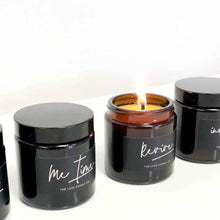 Me time candles - Ginger and ylang ylang essential oil