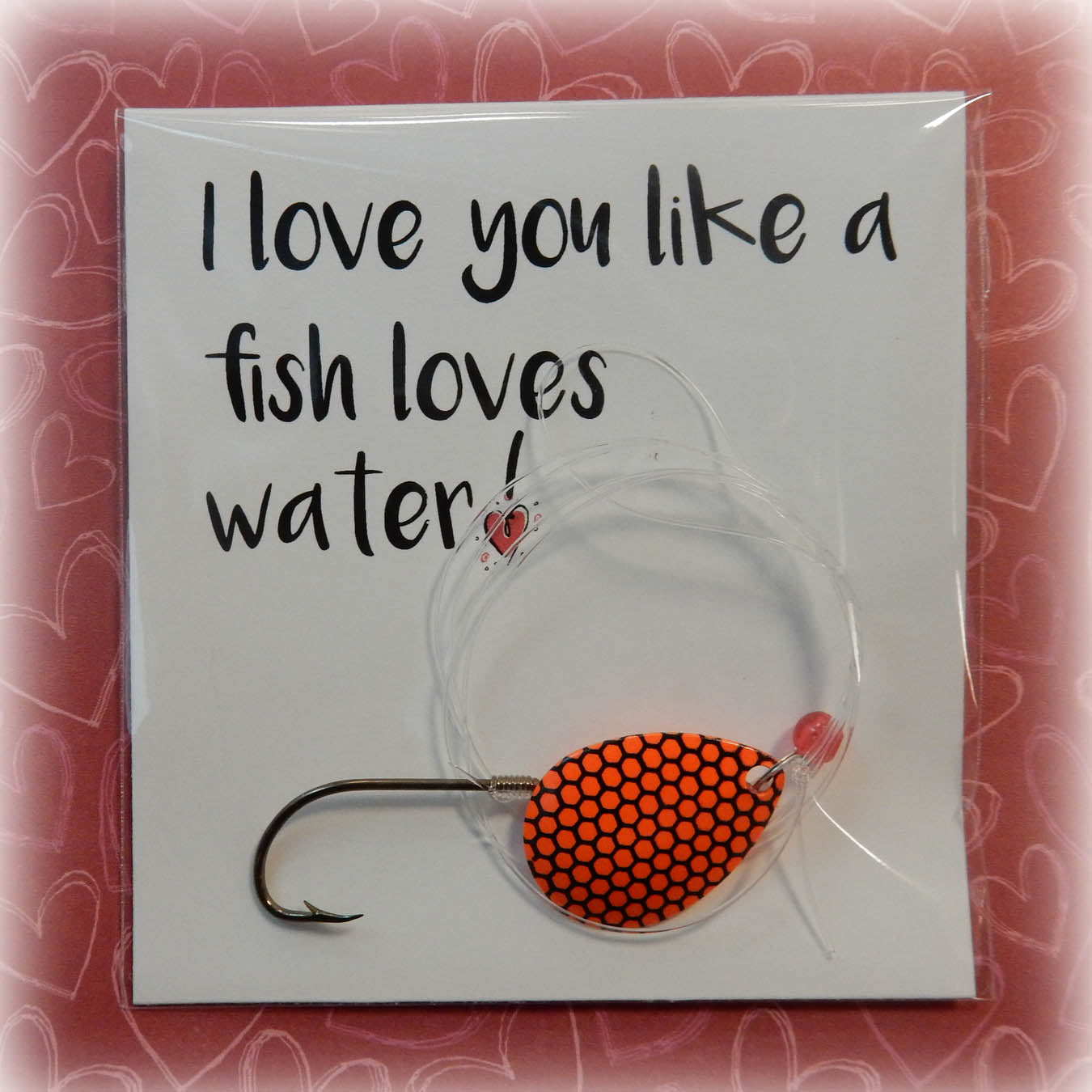 Valentine's Day fishing gift