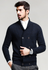 Navy Wool Cardigan