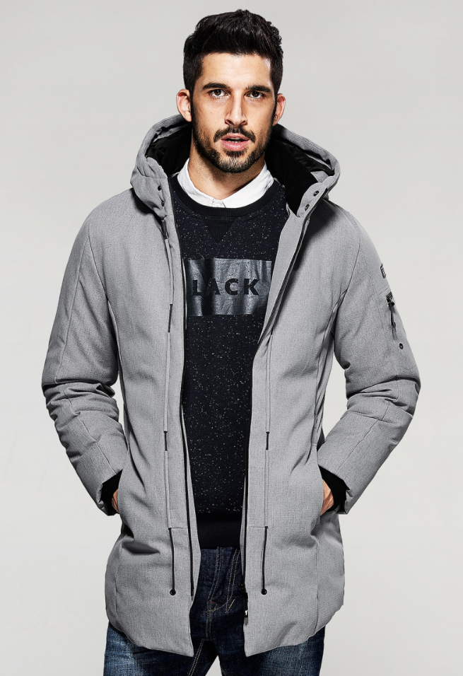 Parka Hooded Warm Jacket