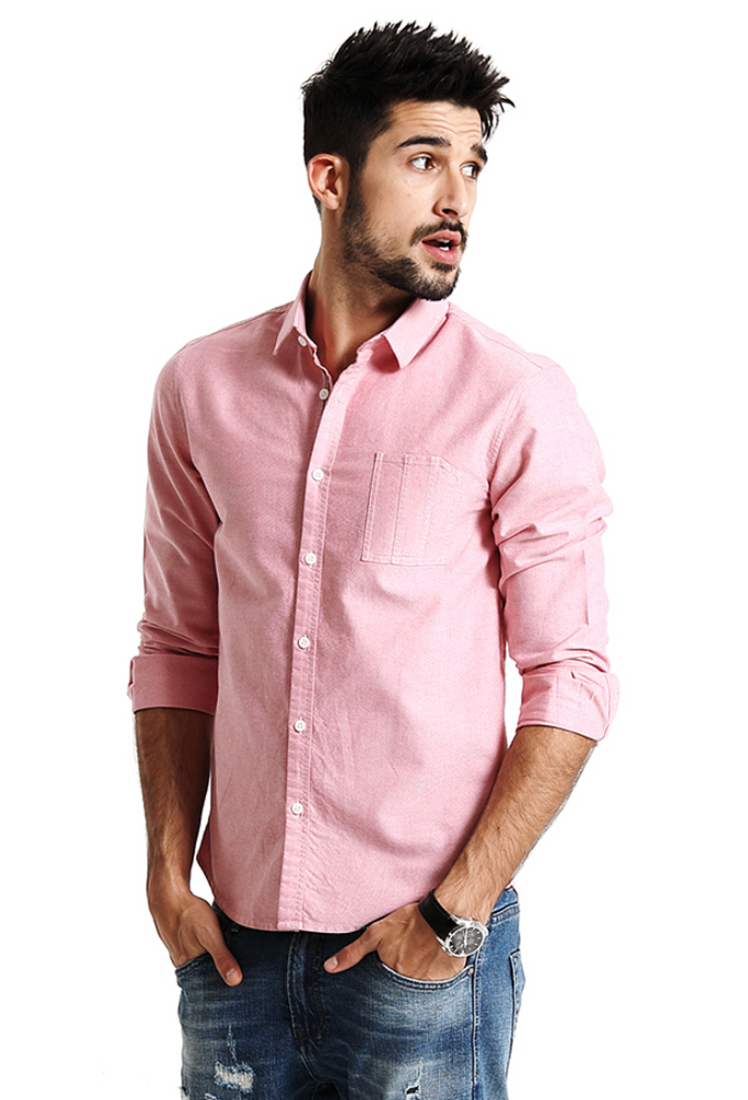 Pure Cotton Slim Shirt