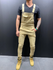 Slim Pocket Overall