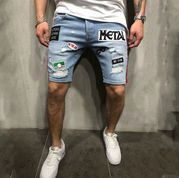 Metal Jeans Shorts