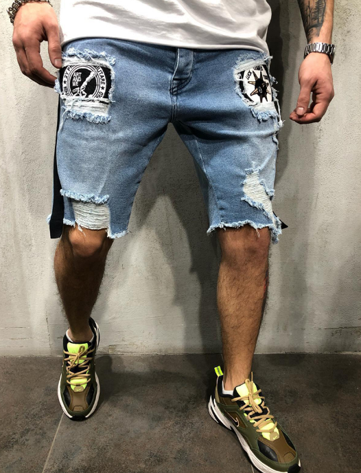 Bomber Jeans Shorts