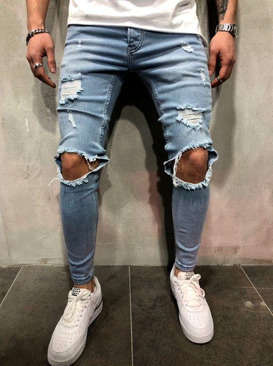 Destroyed Street Jeans