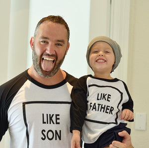 T-Shirt - Like son like father