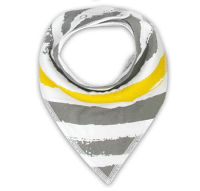 Little Bro Bib -Grey/Yellow