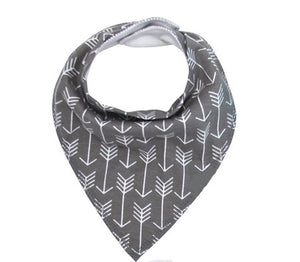 Little Bro Bib - Grey Arrow