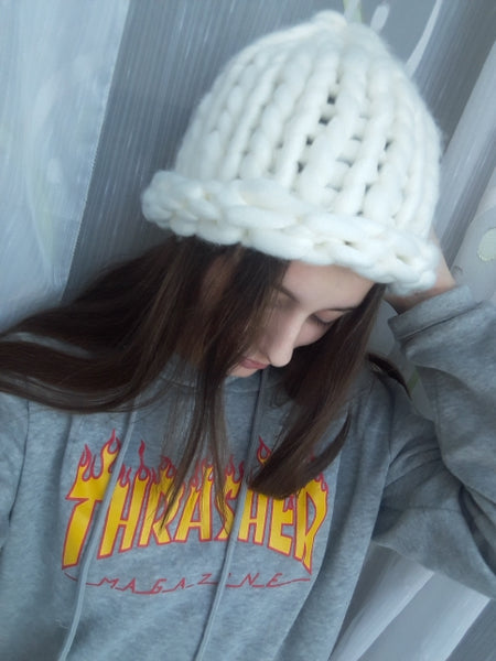 The Chunky Hat - White