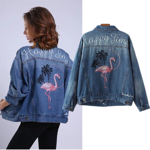 On The Go Denim Jacket