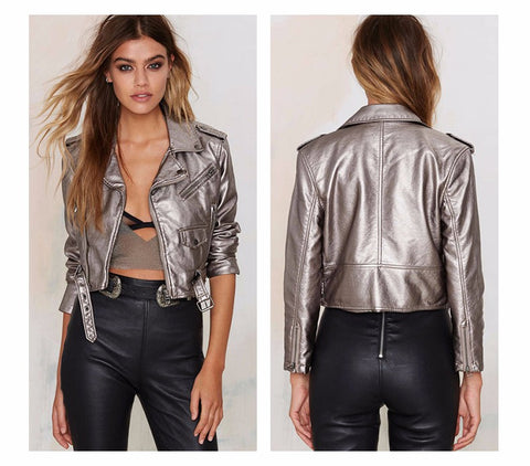 Caught You Looking Biker Jacket