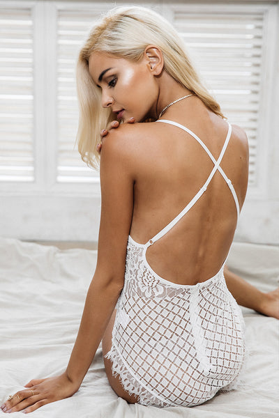 All For You Lace Bodysuit