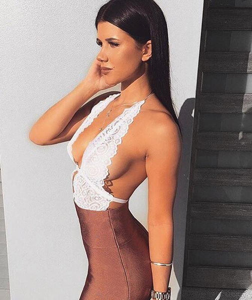 Sweet Devotion Lace Bodysuit