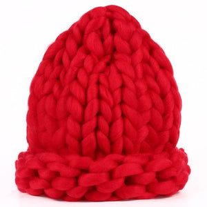 The Chunky Hat - Red