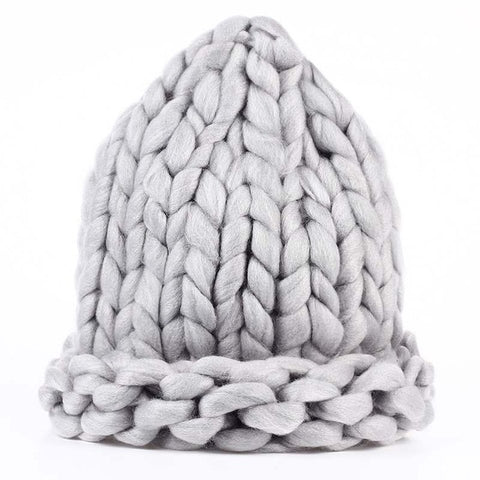 The Chunky Hat - Gray